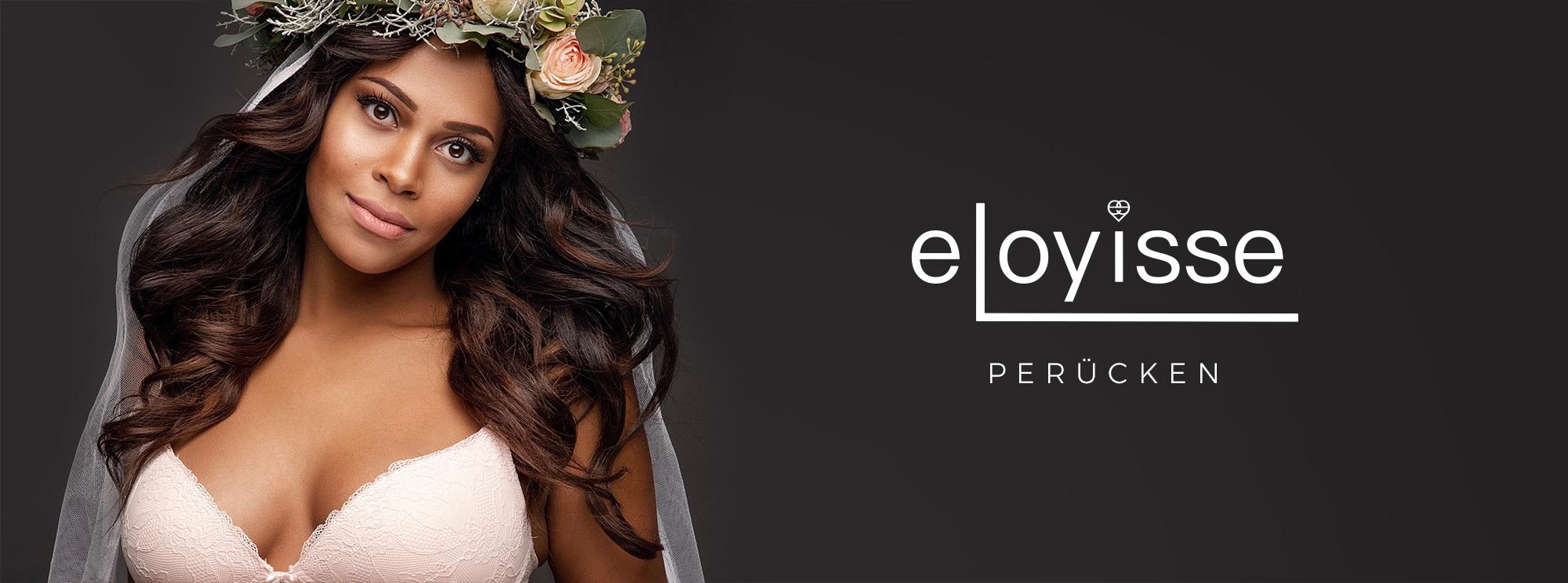 Perücken von eloyisse gestylt mit curly Haarprodukten